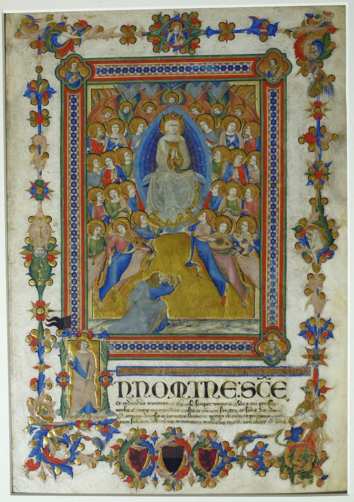 Niccolò di ser Sozzo, L'Assunzione della Vergine, 1334