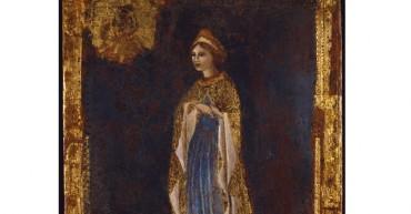 Dama dal manto Trapunto d'Oro