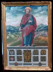 S. Paolo conforta i senesi nelle tribolazioni dell'assedio
