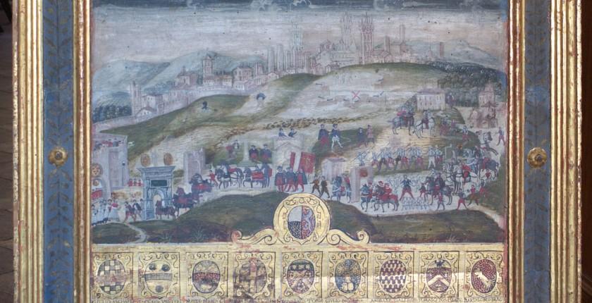 Solenne ingresso di Cosimo I a Siena, Biccherna 64